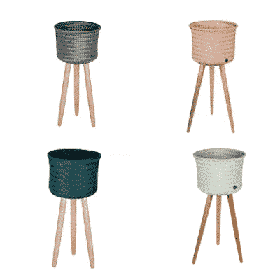Tall Woven Indoor Woven Basket 4 Colours